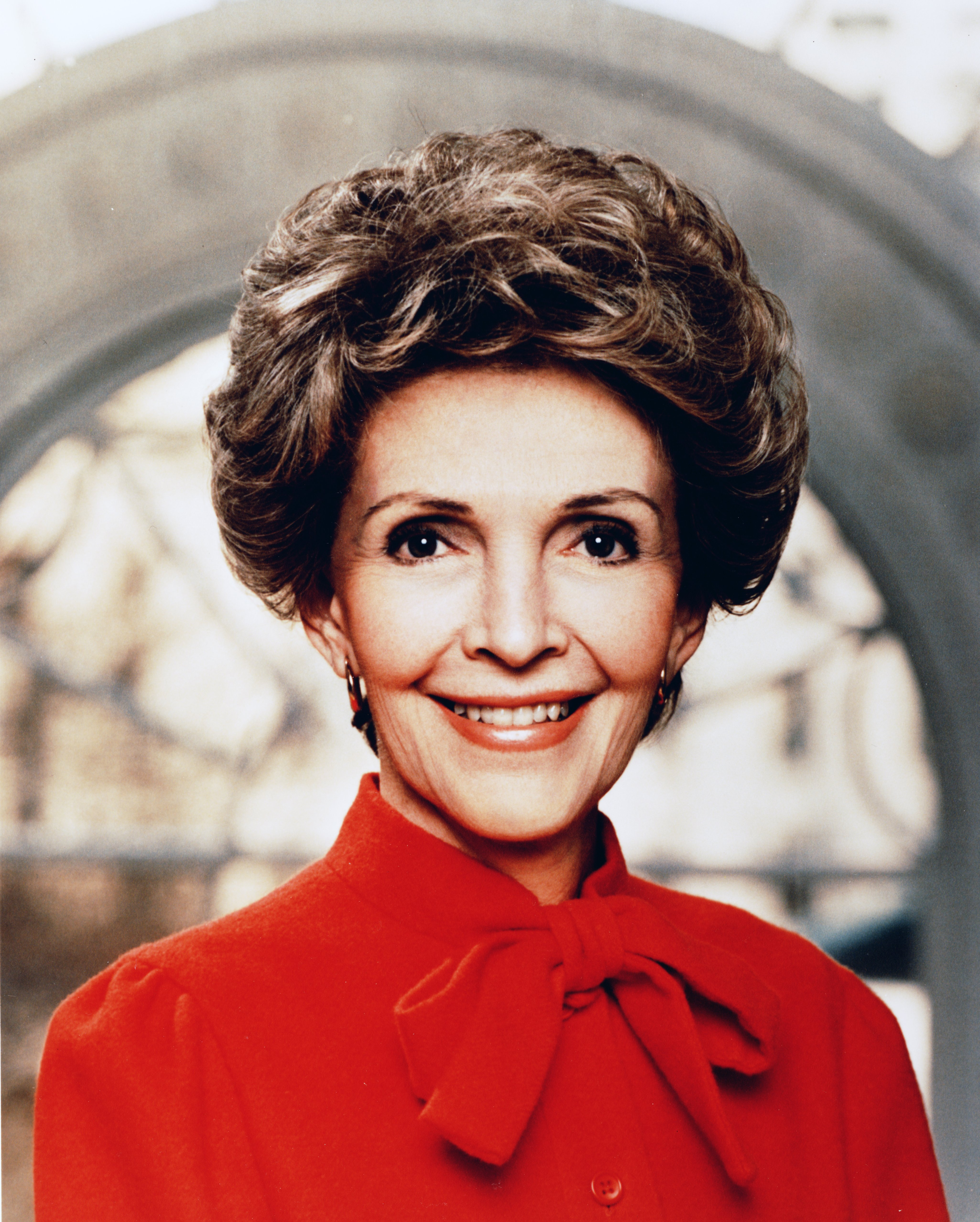 Nancy Davis Reagan (July 6, 1921 - ) widow of the 40th President of the United States, Ronald Reagan,...
