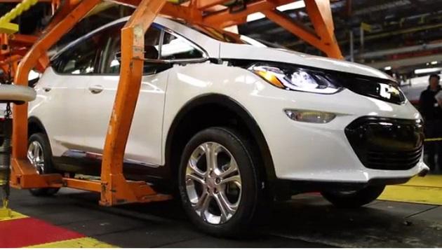 【ビデオ】シボレー、新型電気自動車「ボルト」の量産前試作車が製造される様子を動画で公開