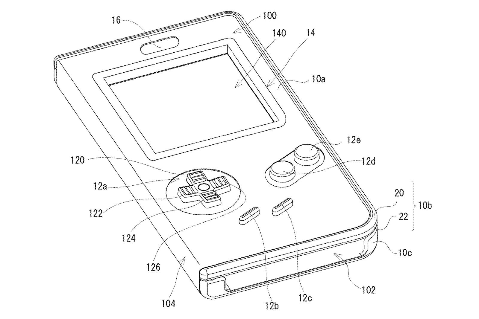 任天堂、スマホをゲームボーイにするケースの特許を出願 - engadget 日本版
