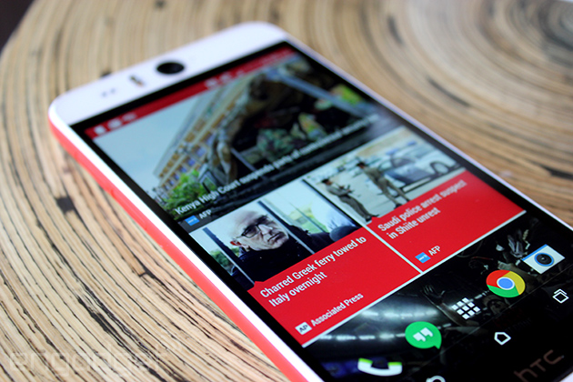 HTC Desire Eye review: in search of the ultimate selfie machine