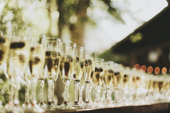 Cheers! Three glasses of Champagne a day 'could prevent dementia'