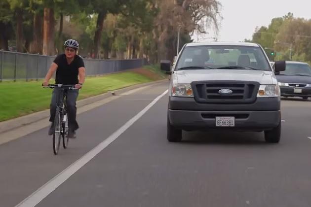 フォード、自転車とクルマがうまく連携した