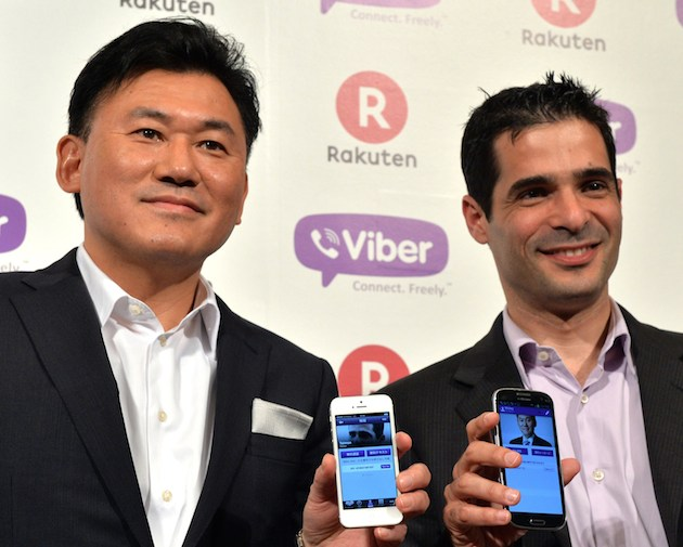 Viber looks to challenge Skype with backing from Japanese