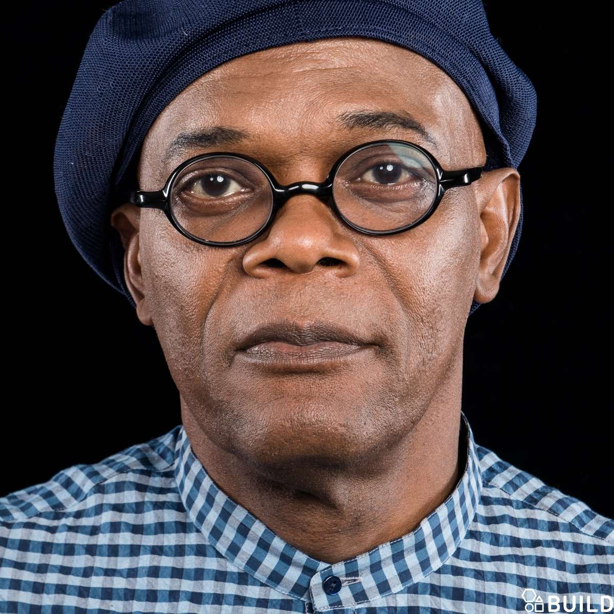 Samuel L. Jackson visits AOL Hq for Build on June 29, 2016 in New York. Photos by Noam Galai