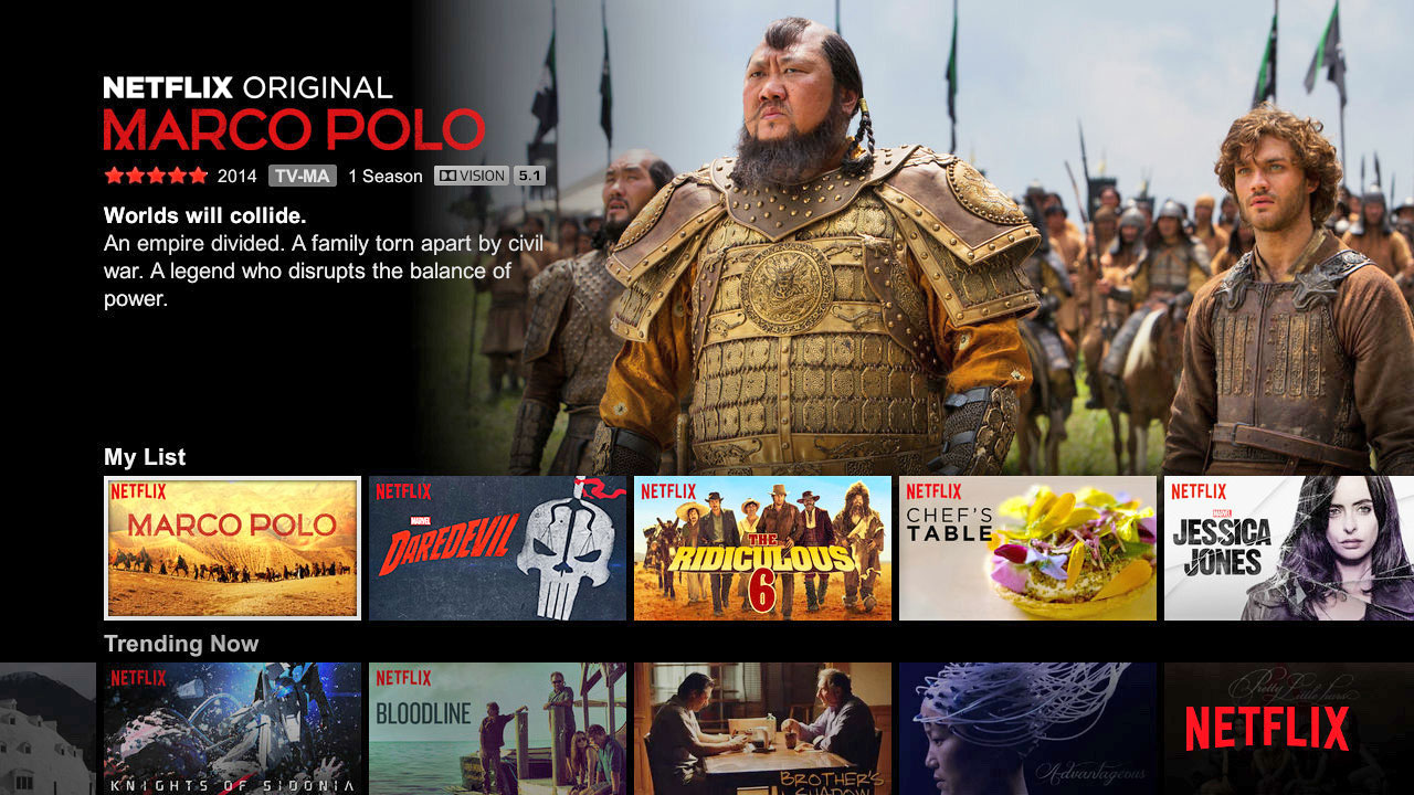 Netflix details its HDR streaming lineup for the year