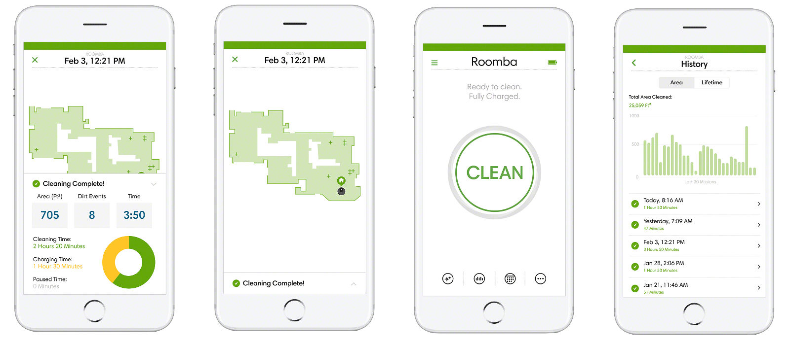 Now Roombas Check In With Clean Map Reports To Your Phone
