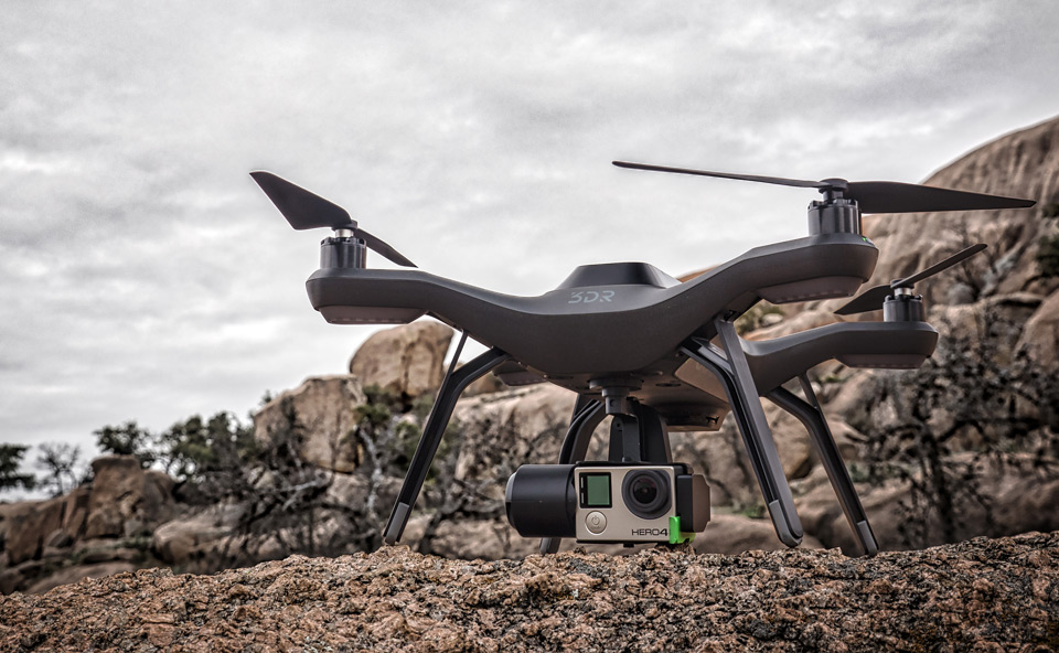 3D Robotics takes on DJI with Solo 'smart drone'