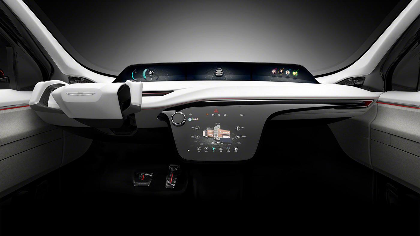 Chrysler Unveils Portal Concept Minivan