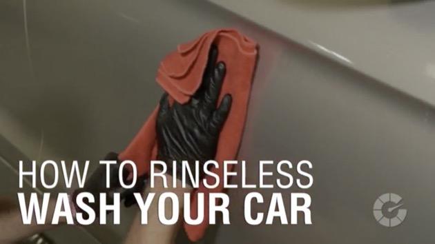 【ビデオ】最近流行の「水なし洗車」、ボディに傷をつけずに行うコツをプロが伝授!