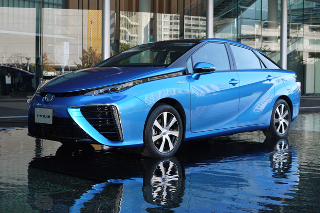 トヨタの新型燃料電池自動車「MIRAI(ミライ)」発表会場からリポート!(前編)