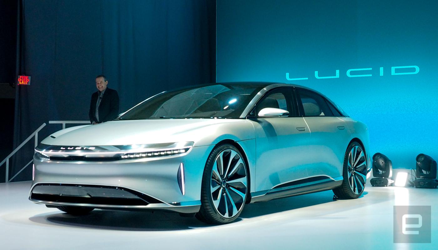 Lucid Motors Unveils Its Mile Range Luxury Ev
