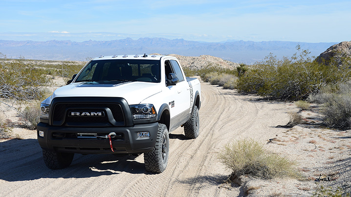 Mojave Road in a 2017 Ram 2500 Power Wagon