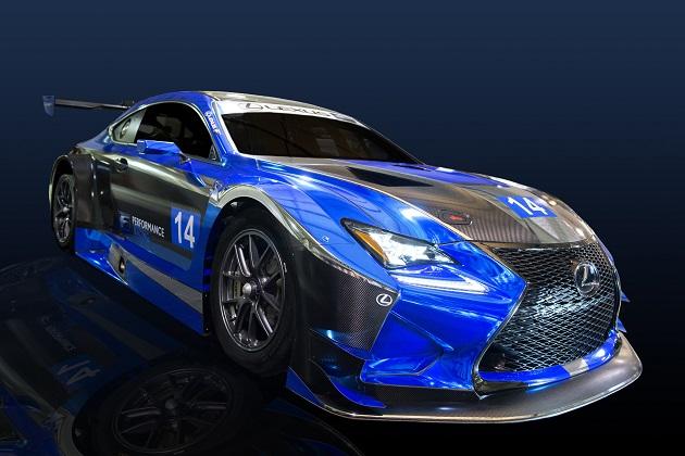レクサス「RC F GT3」がIMSA ウェザーテック・スポーツカー・チャンピオンシップに参戦へ