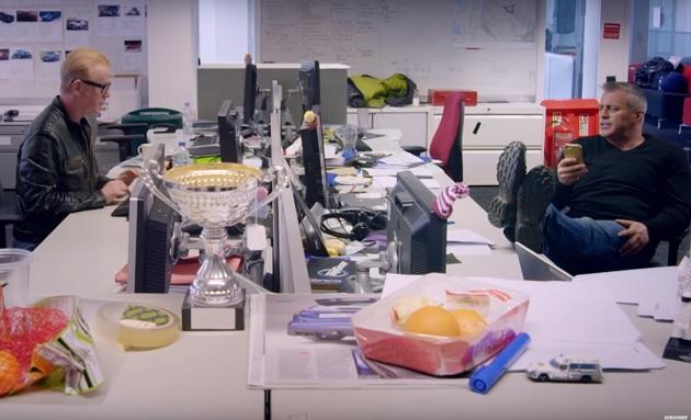 【ビデオ】制作オフィスは意外と平凡? 『トップギア』の最新予告映像が公開!