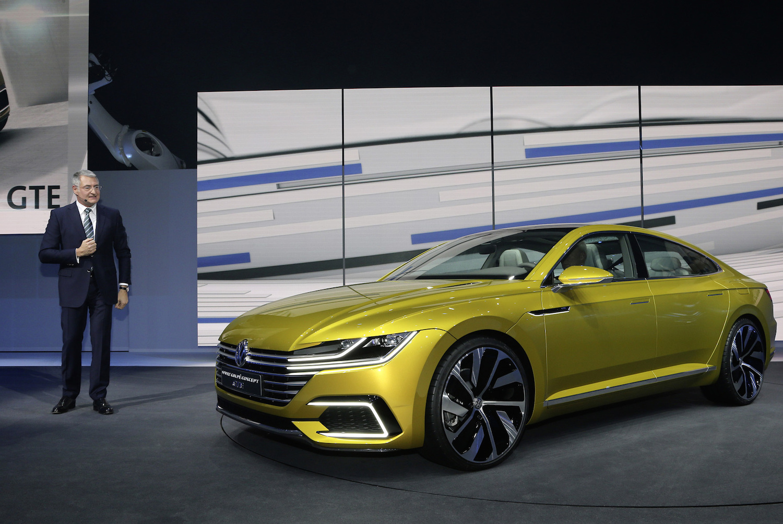 【ジュネーブ2015】フォルクスワーゲン「スポーツクーペ コンセプト GTE」を世界初公開