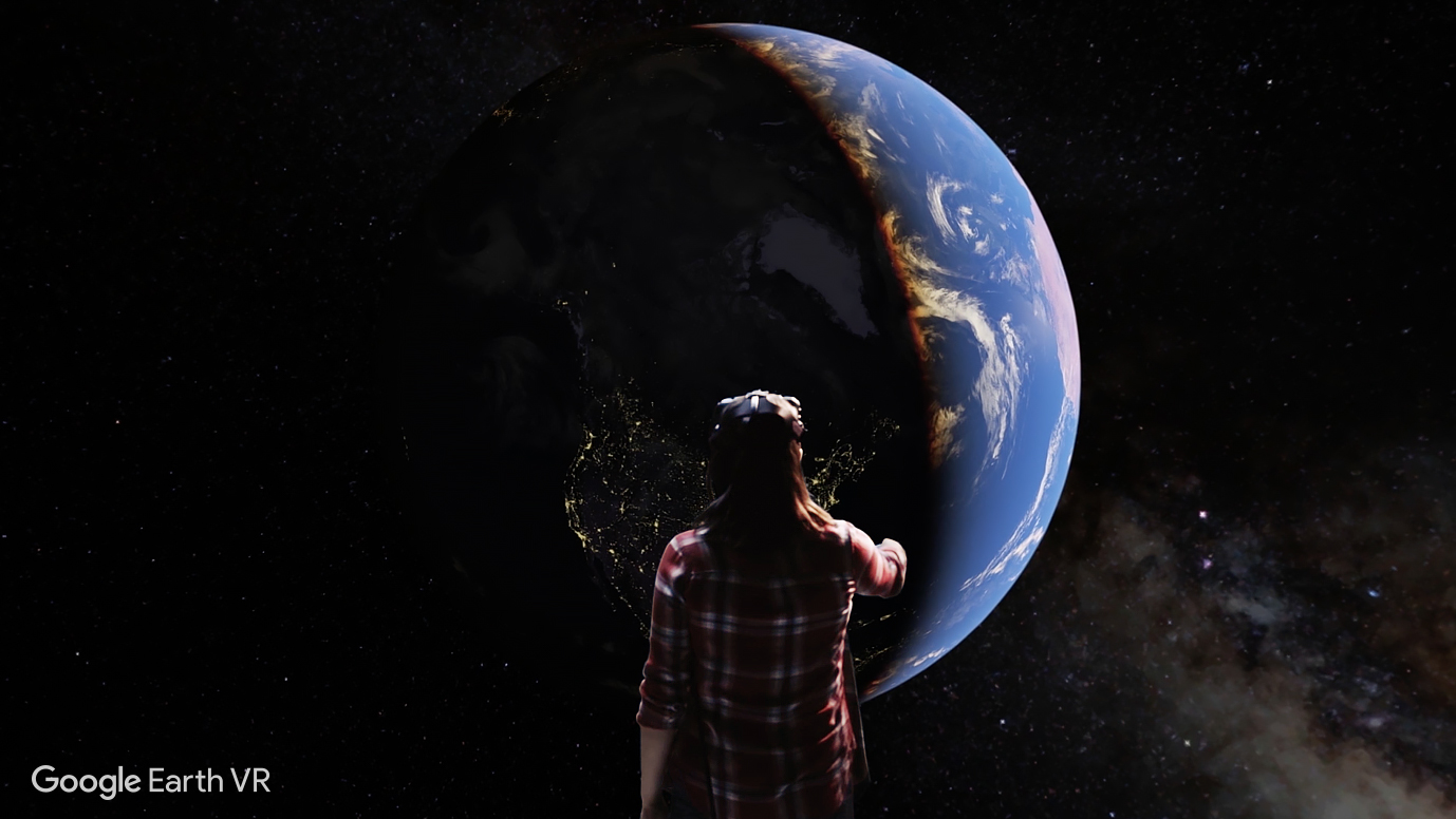 Google Earth 现在能用 VR 来玩了