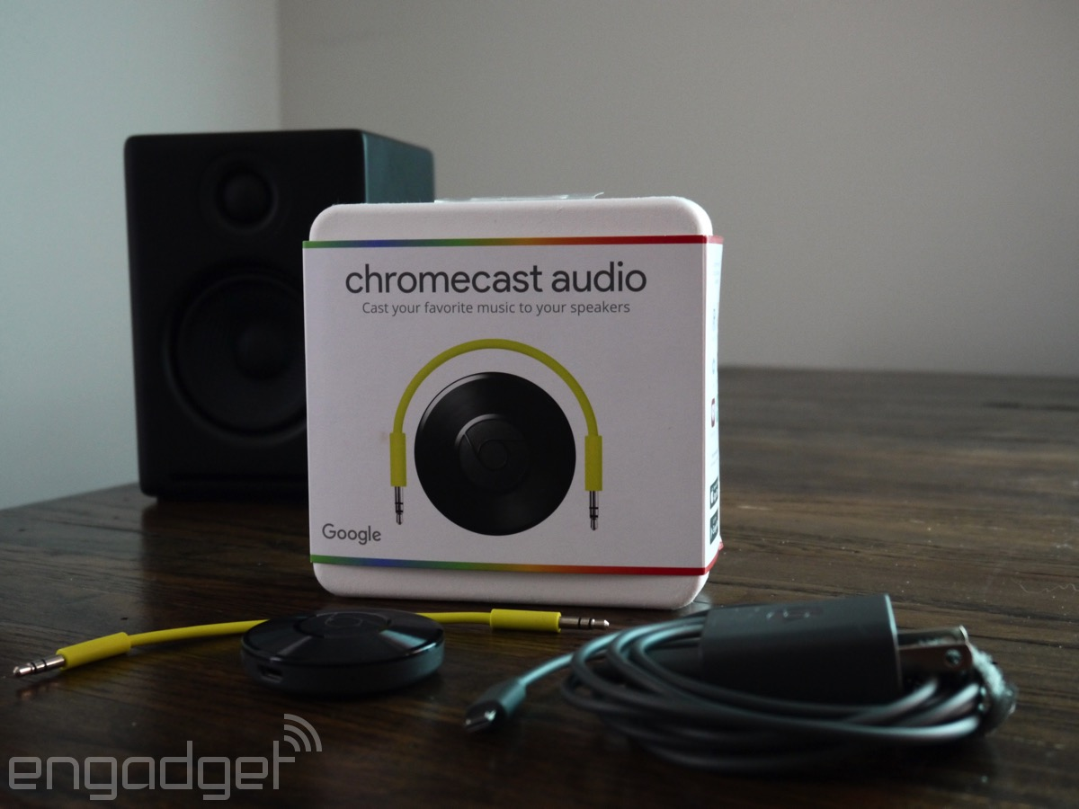 Now Comes All the Speakers with Google Cast Technology