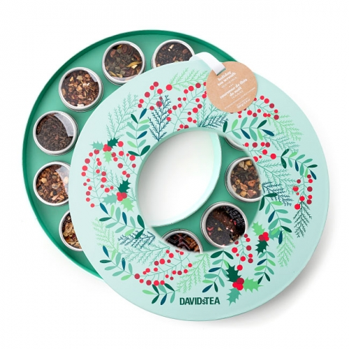 25 gift ideas that teachers and daycare providers will actually like 2 holiday tea wreath negle Images
