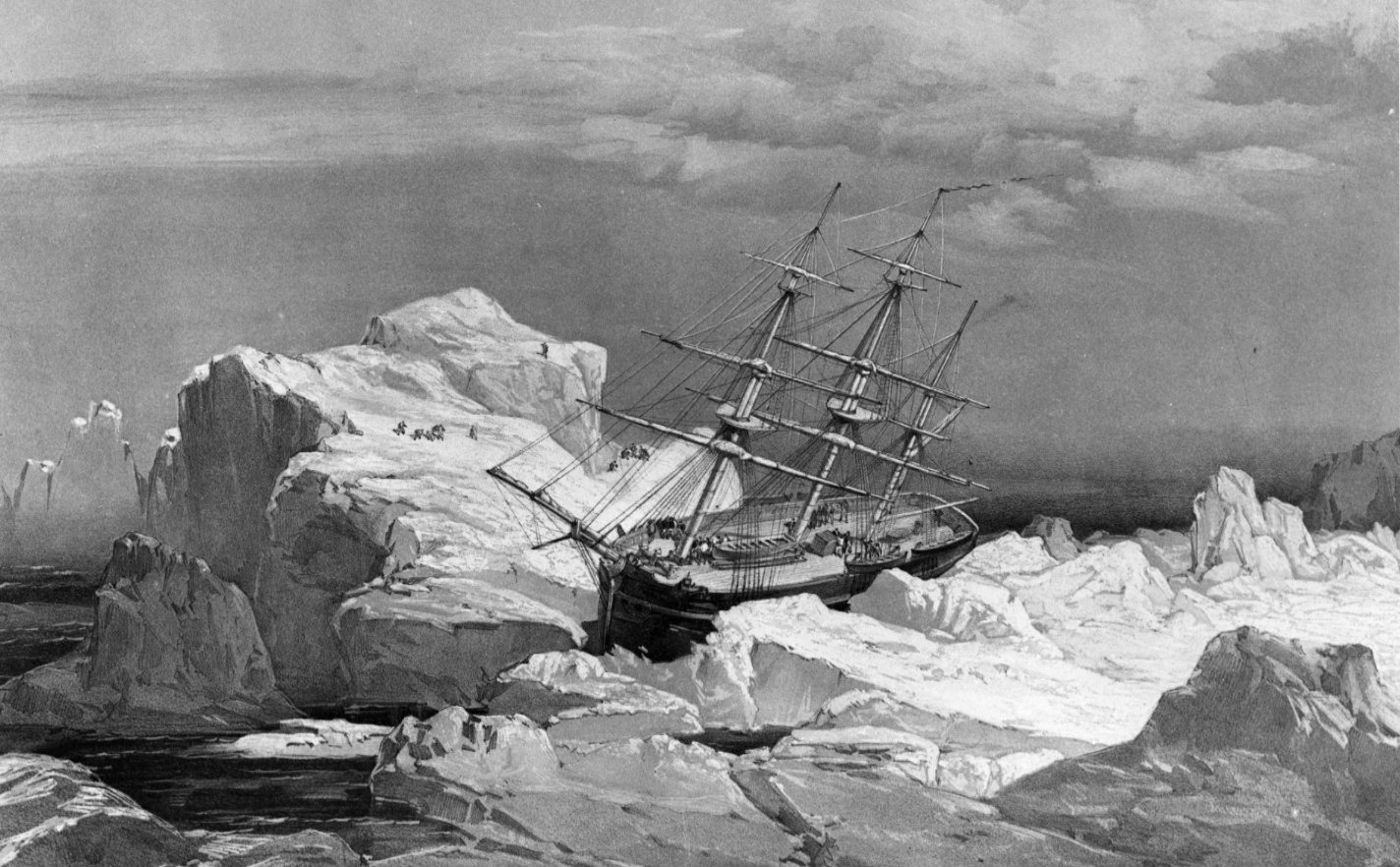 The HMS Investigator — sent dispatched on the search for the doomed Franklin Expedition — is stranded...