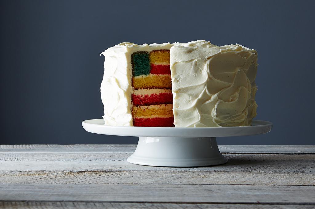How to make an American Flag Cake