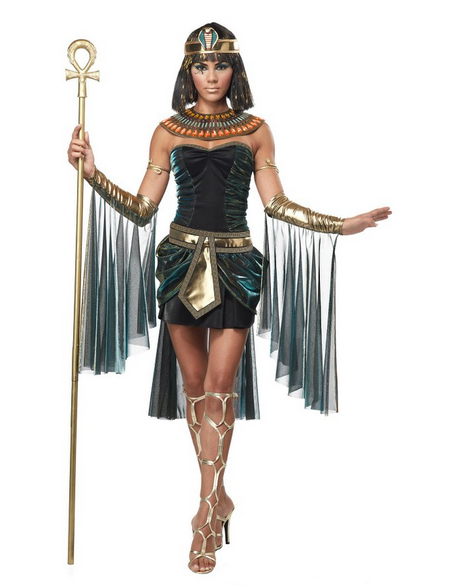 Discounted Cleopatra Halloween Costume