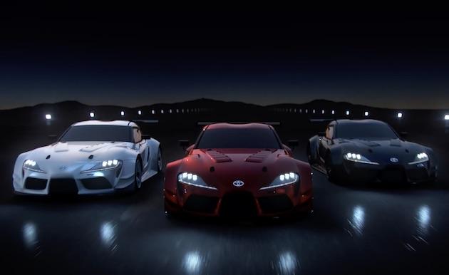 【ビデオ】トヨタ、『グランツーリスモ』に登場する新型「スープラ」の走行映像を公開