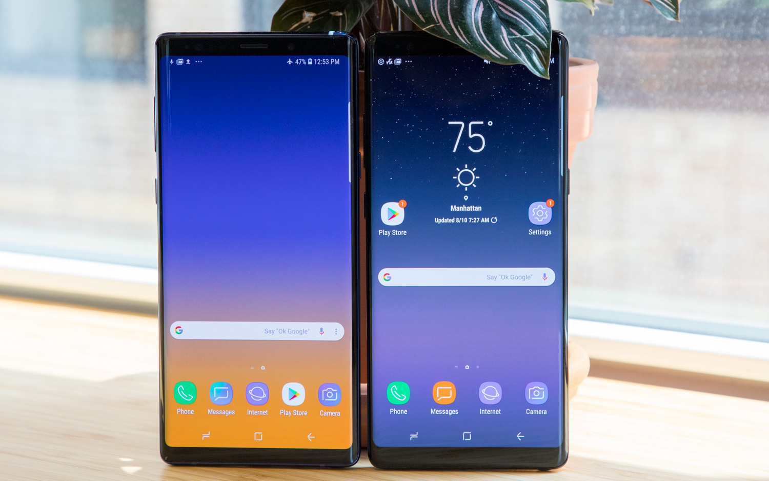 The Galaxy Note 9 Does Deliver Better Sustained Performance Than The Galaxy S9 Which Doesnt Benefit From The Note 9s More Advanced Carbon Water Cooling