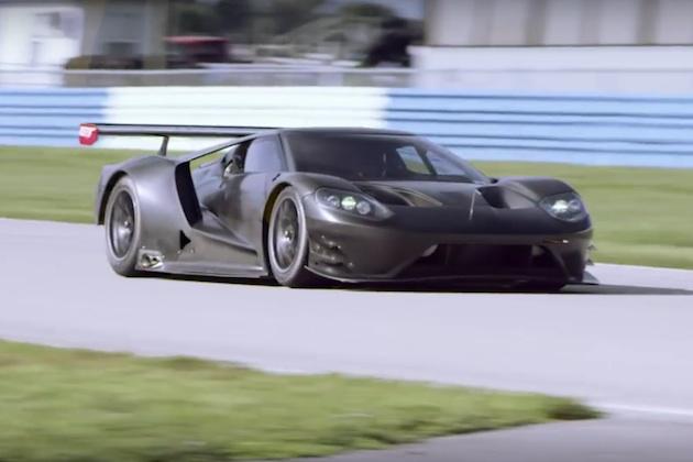【ビデオ】2016年に幸福をもたらしそうな、新型「フォードGT」のエンジン音!
