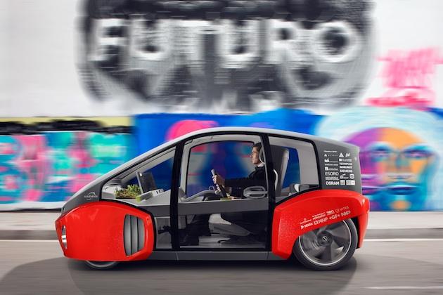 【ビデオ】リンスピード、小さな庭園まで備わる自動運転EVコンセプト「オアシス」のプロモーション映像を公開