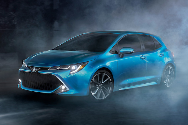 トヨタ、米国仕様の新型「カローラハッチバック」を発表! 2018年初夏に日本でも発売