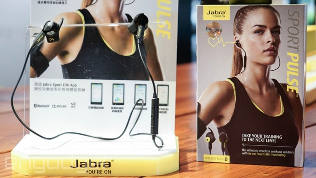 Jabra Sport Pulse Wireless 在台推出,建議售價 NT$7,590(心跳加速)