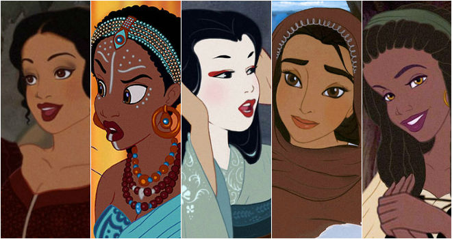 disney princesses different ethnicities