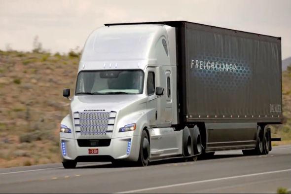 Freightliner works on autonomous HGV