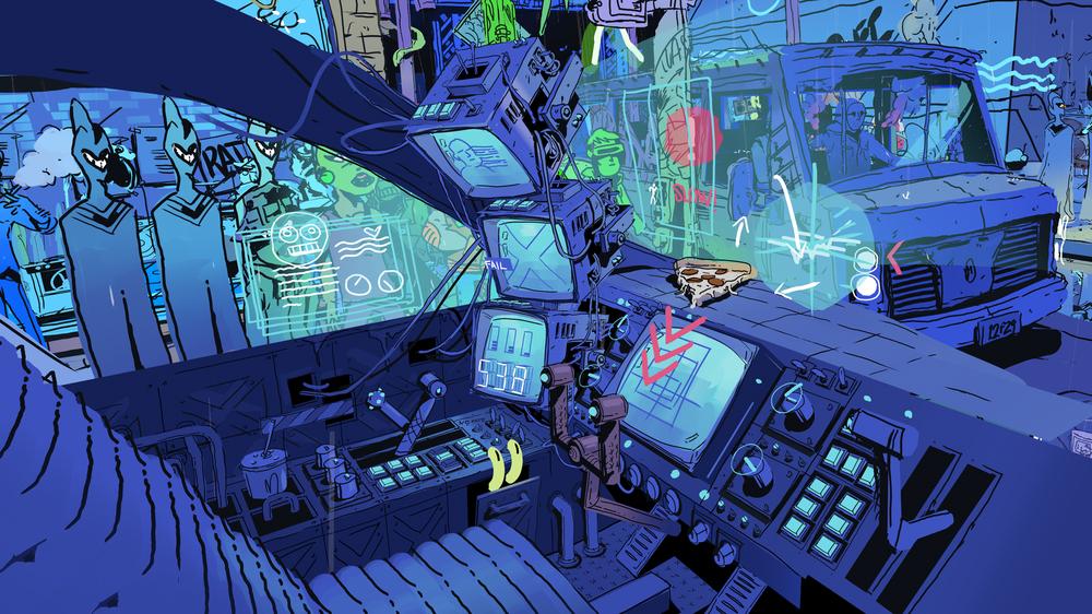 alex's sci fi world