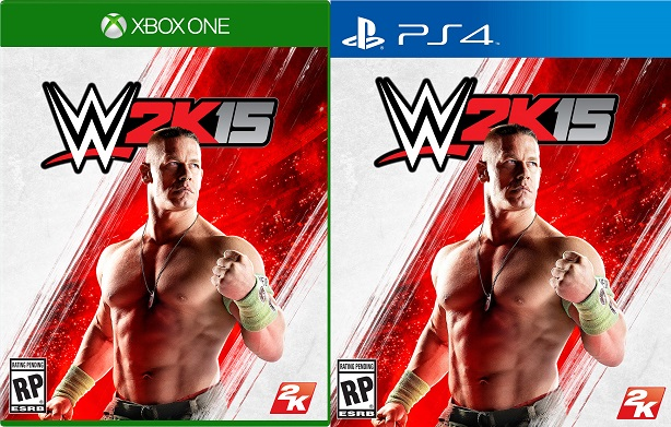 John Cena Sucks Up The Spotlight On Wwe 2k15s Cover