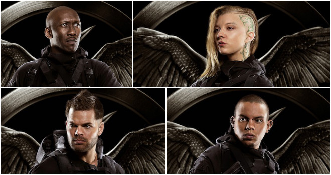 Hunger Games Mockingjay Characters