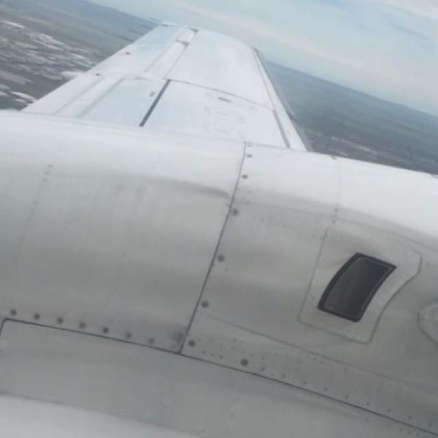 Passenger's scary video shows severe turbulence shake plane