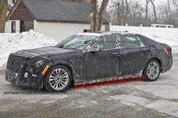 Cadillac LTS spy shots
