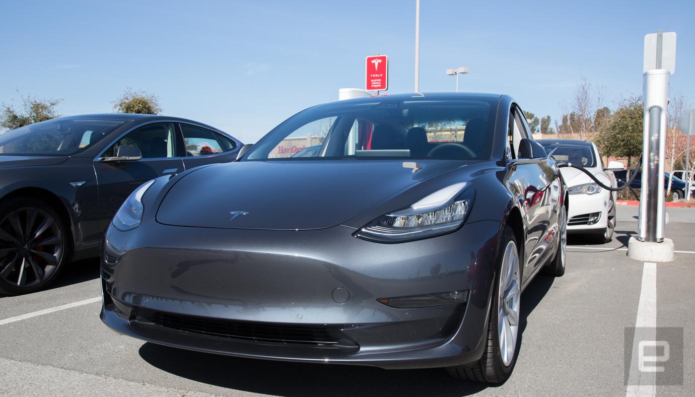 Elon Musk agrees robot glut slowed Model 3 production