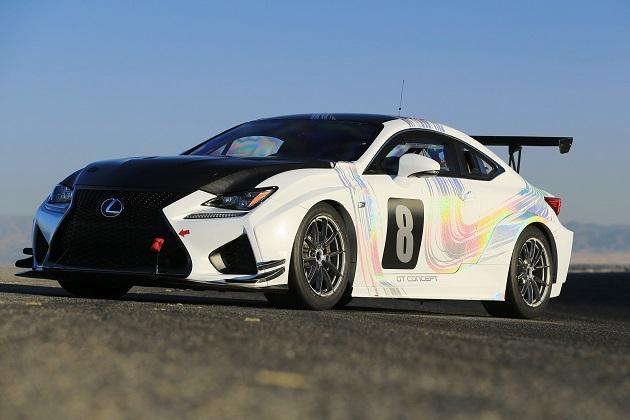 レクサス、 「RC F GTコンセプト」でパイクスピークに参戦!
