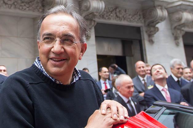 Ferrari / Fiat / Chrysler CEO Sergio Marchionne