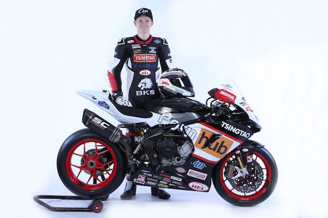 Motorcycle racing team gets a bit racey with new adult sponsorship
