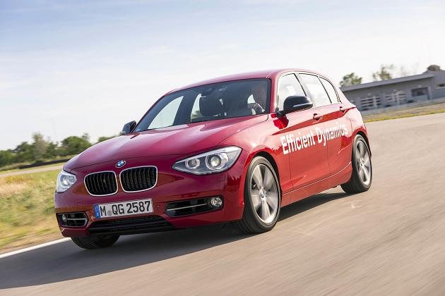 BMW、新開発の「直接水噴射システム」を搭載した「1シリーズ」プロトタイプを公開!