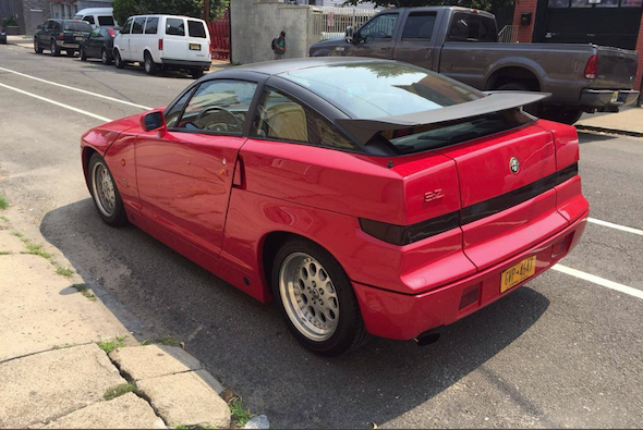 Rare Alfa Romeo SZ Comes Up For Sale In New York AOL - Alfa romeo car for sale