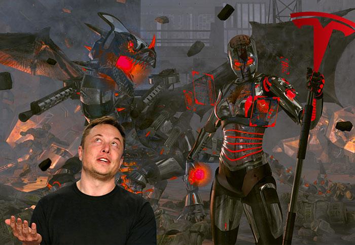 Elon Musk: 'Oh btw I'm building a cyborg dragon'