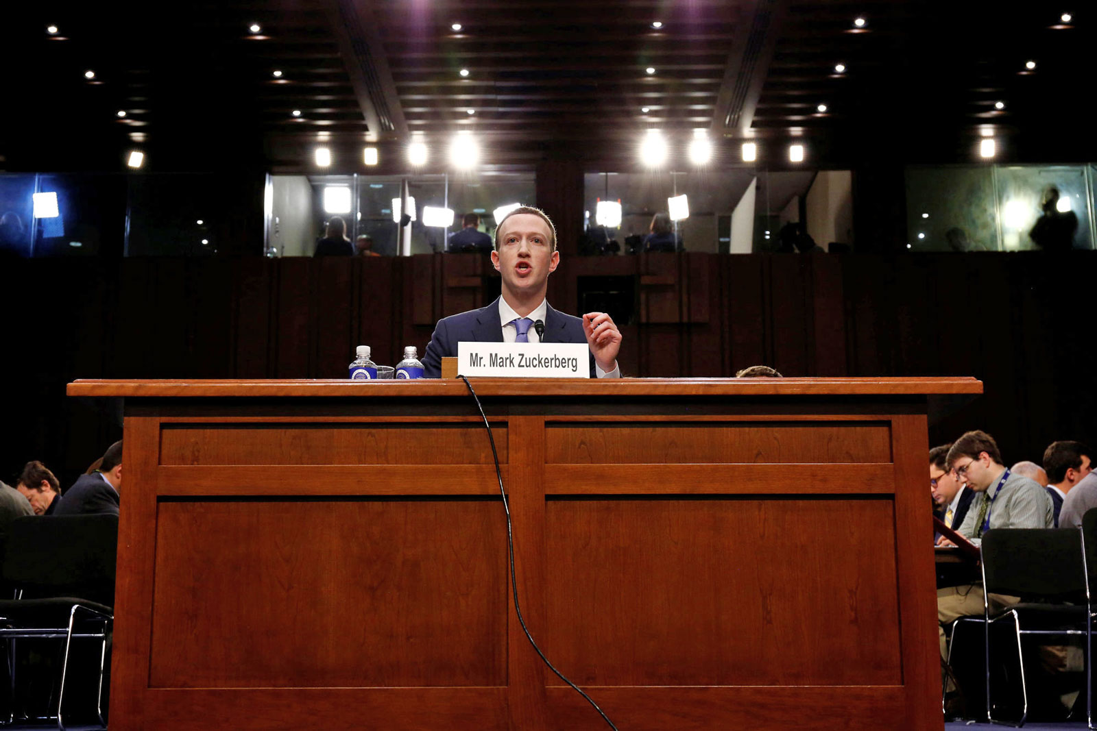 Facebook CEO Mark Zuckerberg owes lawmakers answers to these questions