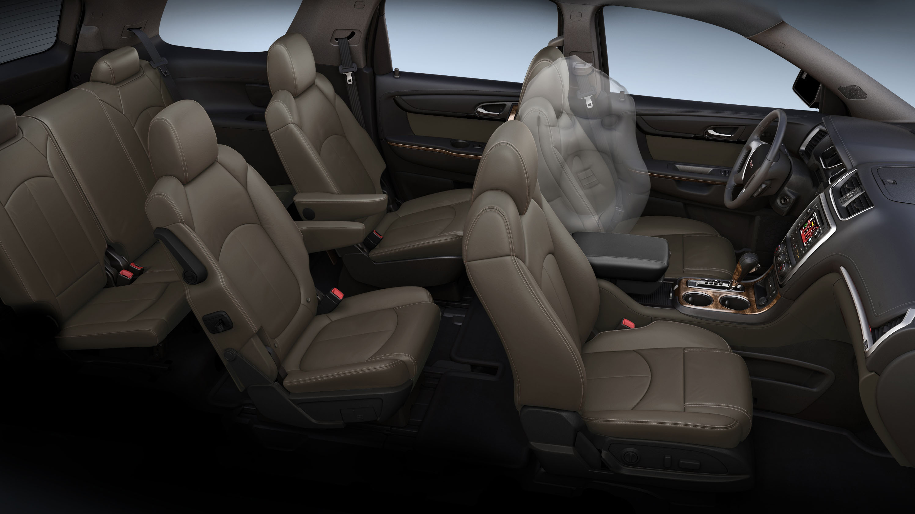 2013 GMC Acadia Airbags. (02/08/2012)