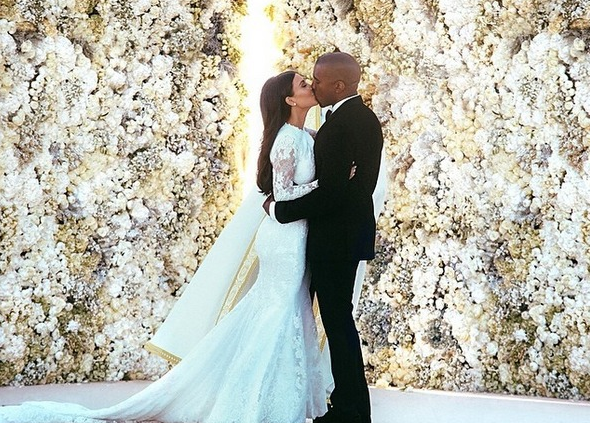 The best photos from Kimye's wedding