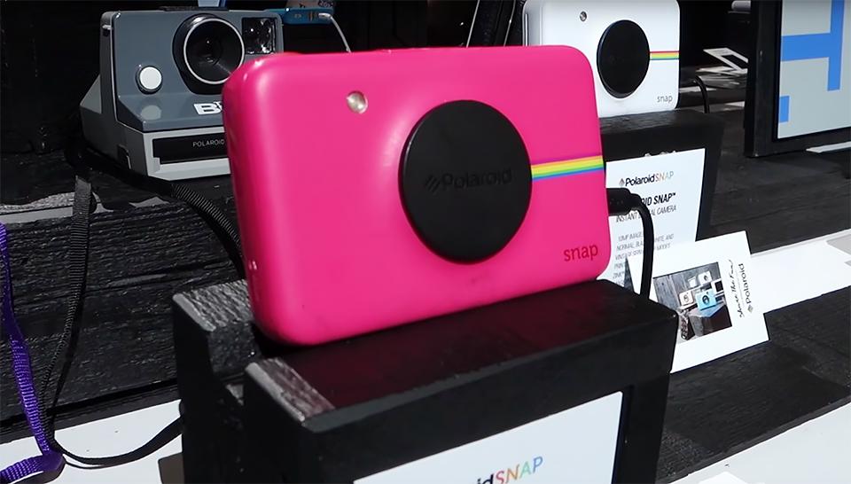 超傻瓜又可爱的 Polaroid Snap 数码拍立得简单动手玩