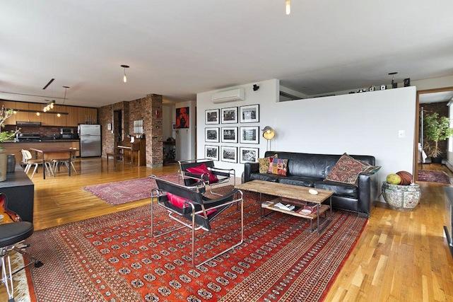 Louisa Gummer's brooklyn loft